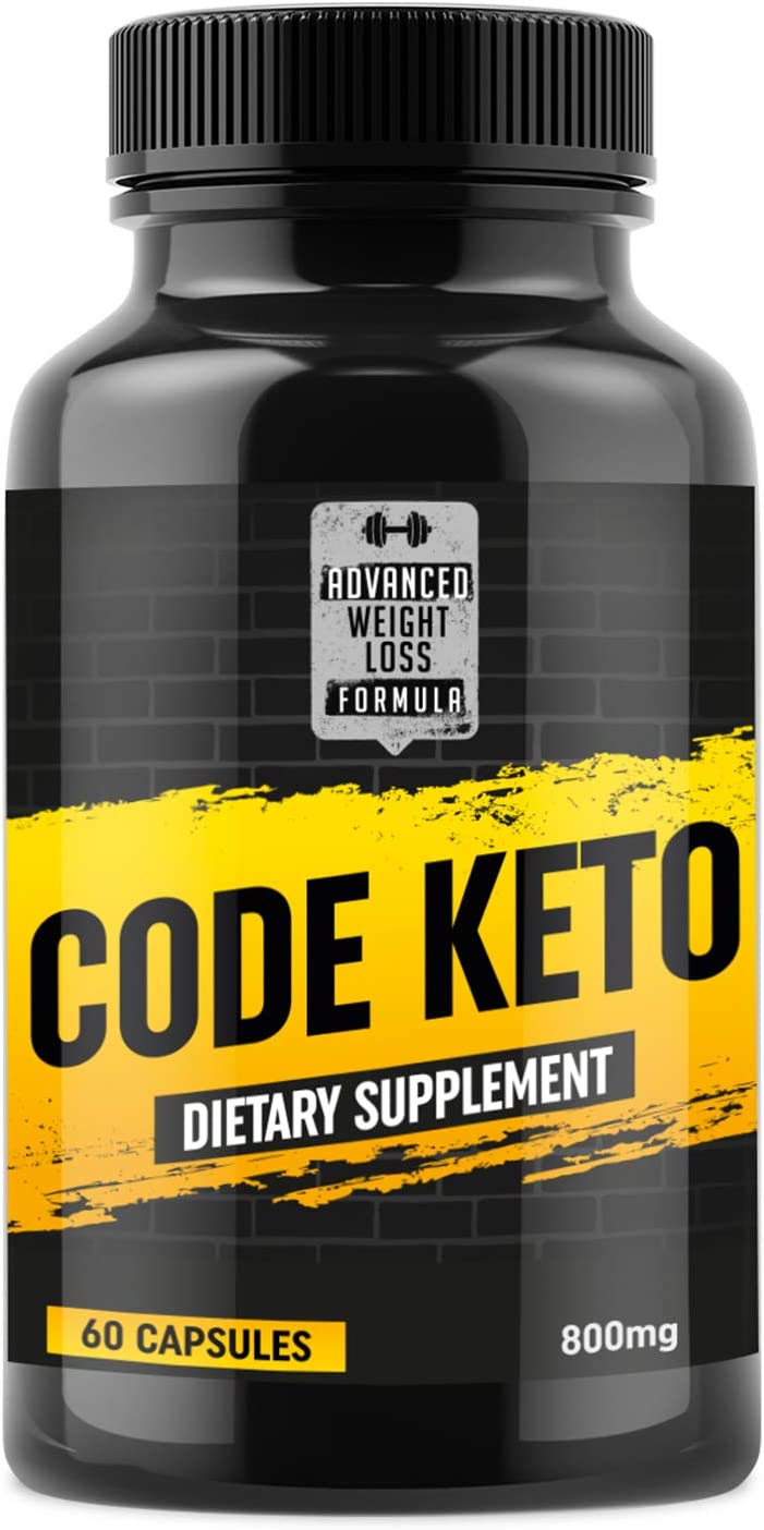 Keto Diet Pills – Best Ketosis Supplement for Women and Men – Code Keto – 60 Capsules