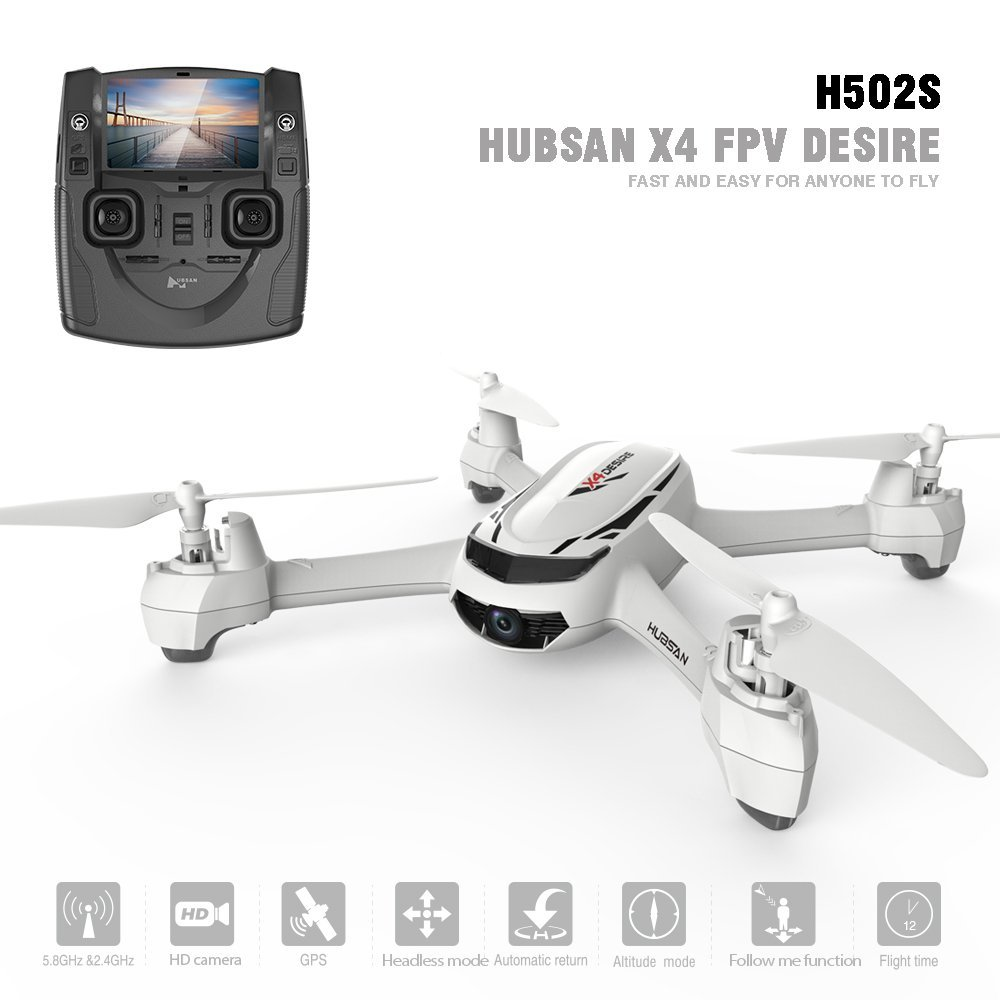 Hubsan H501S X4 Brushless Brushless Brushless Drohne GPS 1080P HD Kamera 5.8 Ghz FPV 2.4 Ghz RC Quadcopter Mit H901A Sender Schwarz Standard Version 399904