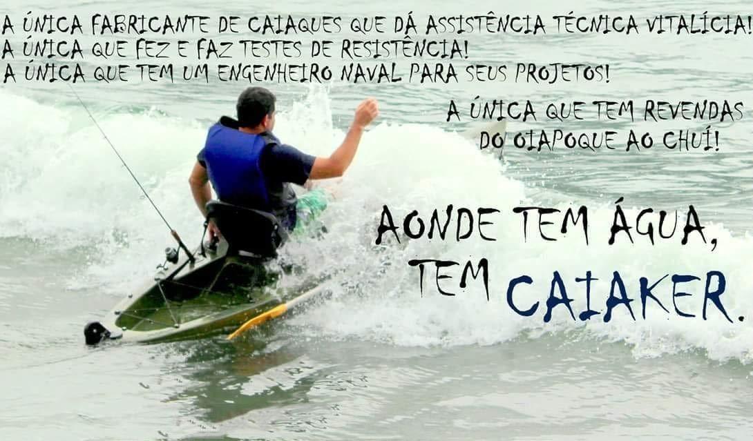 15f2136f1 Caiaque Duplo New Foca Standart Caiaker  Amazon.com.br  Esportes e Aventura