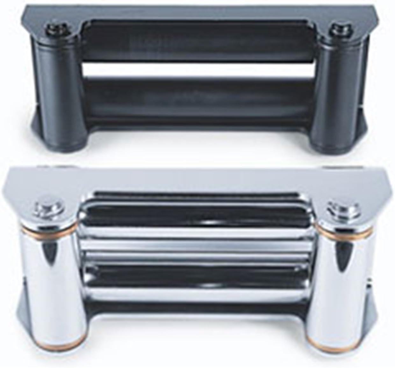 Black WARN 24335 Industrial Roller Fairlead