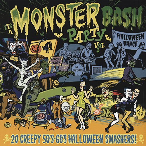 It's A Monster Bash Party Vol. 1 - Creepy 50 - 60s Halloween Smashers - Ltd. - Colored Wax & Poster