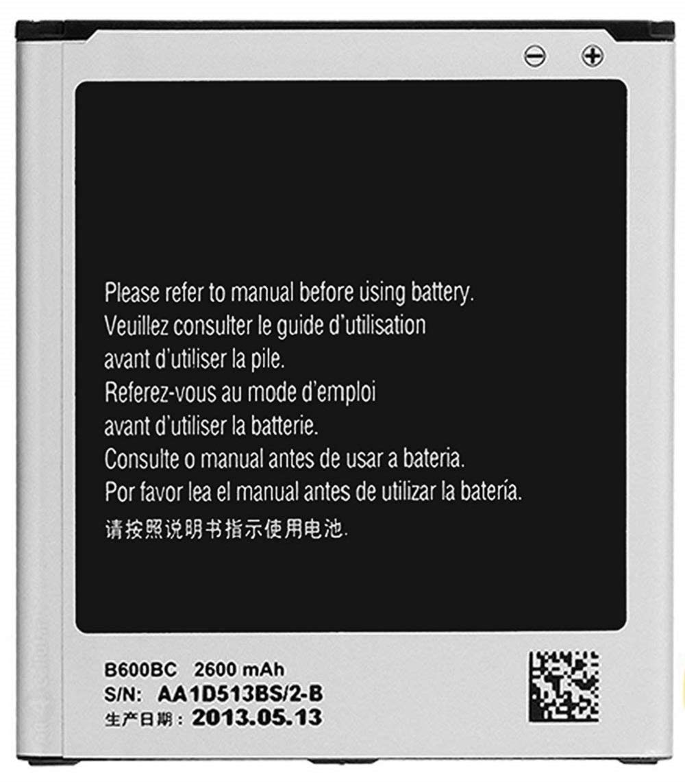 New Samsung B600BU 2600 mAh Replacement Batteries for Galaxy S4 i9600 ATT/Sprint/T-Mobile Models, Non-Retail Packaging o4l - Silver by O4L (Bulk Packaging)
