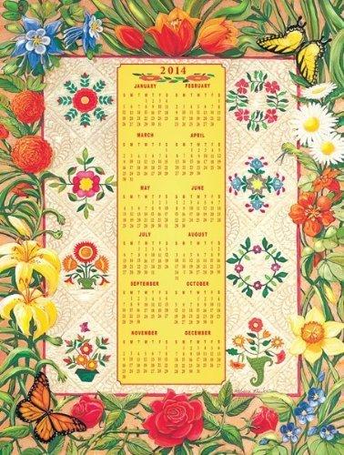 Flower Album Jigsaw Puzzle & 2014 Calendar by Sunsout