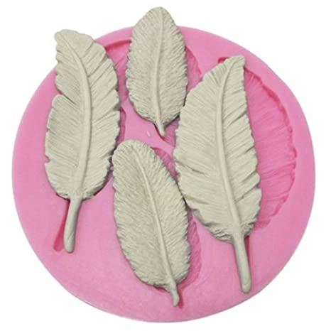 lumanuby Cake Mold Hojas - forma para tarta Chocolate molde para hornear herramientas modelado todas las