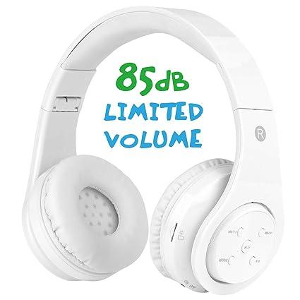 Amazon.com: Mokata - Auriculares infantiles con Bluetooth y ...