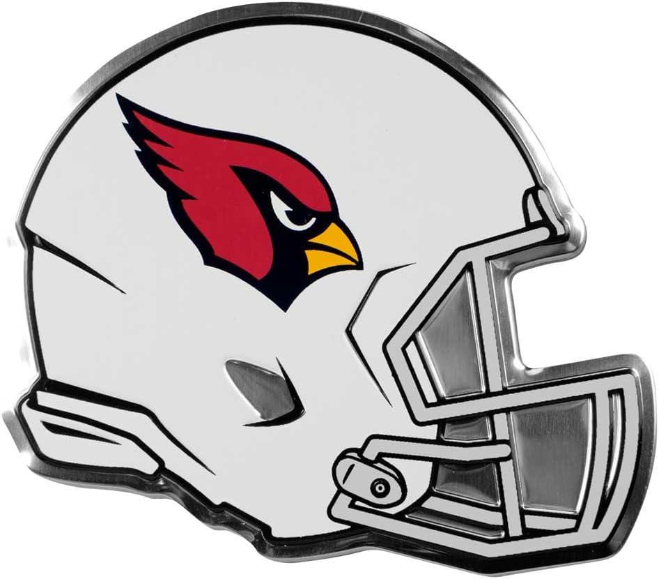 FANMATS NFL - Arizona Cardinals Heavy Duty Aluminium Helmet Emblem