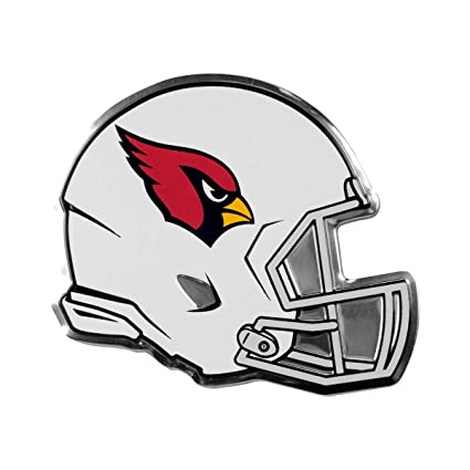 1fae4c9c Amazon.com : Team ProMark NFL Arizona Cardinals Helmet Emblem, Red ...