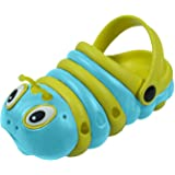 Walking Slippers for Kids Girls Boys and Toddler Funny Comfortable Animal Designed Charm Shoes Garden Shoes