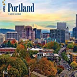 Portland 2018 12 x 12 Inch Monthly Square Wall Calendar, USA United States of America Oregon Pacific West Coast City (Multilingual Edition)