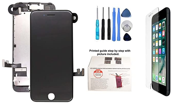 amazon com wirelessfinest iphone 7 plus 5 5 lcd display glass rh amazon com Wagon Assembly Guide Assembly Food Guide