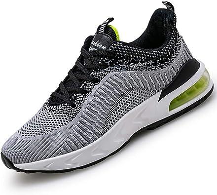 DimaiGlobal Zapatillas Running para Hombre Deportivas Air Zapatos para Correr y Asfalto Deportes Calzado Transpirables Gimnasio Sneakers Antideslizantes Ligeras Atletismo: Amazon.es: Zapatos y complementos