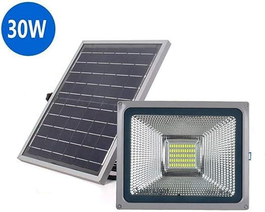H-XH Solar Foco Proyector LED,Proyector De Seguridad De Iluminación De Patio De Jardín Cuadrado Impermeable IP65 (Tamaño : 30W): Amazon.es: Hogar