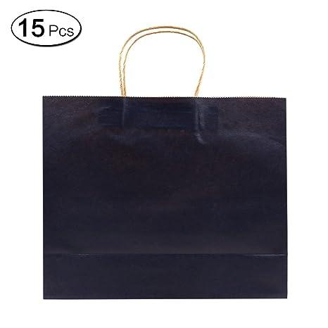 Amazon.com: Jia Hu 15 piezas horizontal Bolsas de papel ...