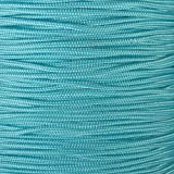 Tactical Cord 425 LB Tensile Strength 3 Strand Core Paracord Spools - 250 Foot and 1000 Foot Size Options (Turquoise, 1000 Feet)