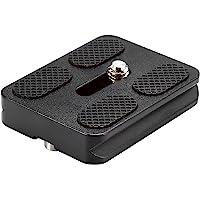 Neewer Black Metal PU-50 Universal Quick Release Plate Fits Standard for Tripod Ballhead (PU50 III)