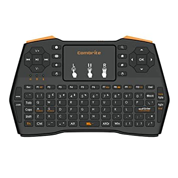 combrite I8 + 2.4 GHz RF Mini teclado inalámbrico y ratón touchpad Combo – Multimedia Portátil