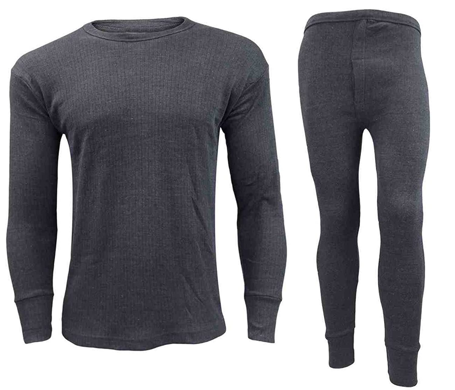 Herren Thermo-Unterwäsche Long John Weste Lange Ärmel Top Ski Warm Winter T Shirt