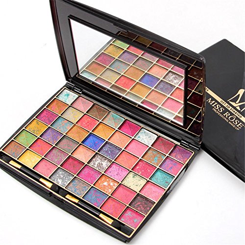 48 Color Mixed Eye Shadow (Single Grid Within The Mixed Color), 3D Mineral New Fashion Cosmetic Eye Shadow , new color 1#