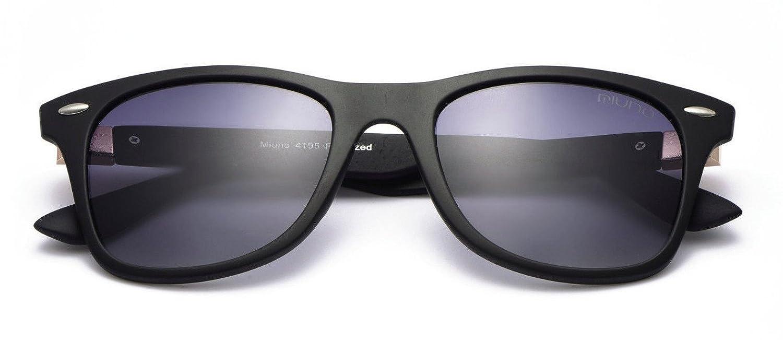 Sonnenbrille Nerd Brille Wayfarer Schwarz Polarisiert Farbe Alt Rosa mQTkdv9S