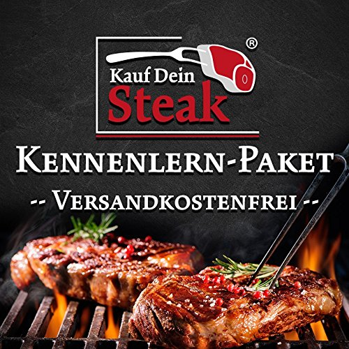 """Das """"Kauf Dein Steak"""" Kennenlern-Paket inkl. Rumpsteak (Dry-Aged), Prime-Rib-Steak (Dry-Aged), Hanging-Tender (Dry-Aged)"""