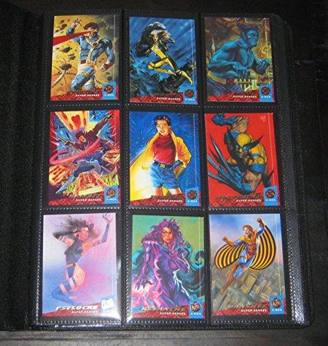 (1994 Fleer Ultra X-Men Mini-Master Card Set (Base, Team Portrait, Greatest Battles, Wal-Mart) ++)