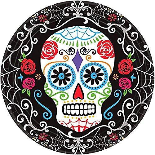 24x24cm Diamond Embroidery Sugar Skull 5D DIY Diamond Painting Mandala Religious Diamond Painting Rhinestone Cross Stitch Decoration ()