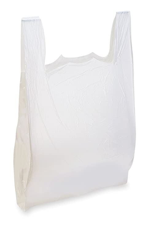 Bolsas de plástico para camiseta, 1000 unidades, color ...