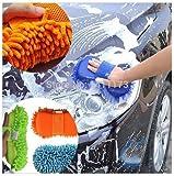 Harikrishnavilla ZM1 Wash and Dry 2-in-1 Multipurpose Microfibre Cleaning Sponge (Colour May Vary)