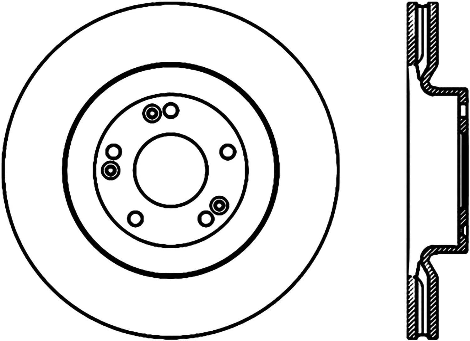 Centric 120.51034 Disc Brake Rotor