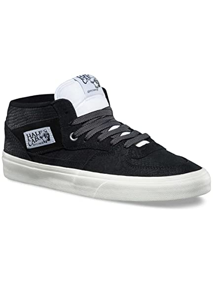485a8c1773734c Vans Half Cab Skate Shoes - (Snake) Black Blanc - Size - UK 10   Amazon.co.uk  Shoes   Bags