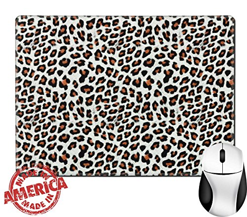 """Luxlady Natural Rubber Mouse Pad/Mat with Stitched Edges 9.8"""" x 7.9"""" IMAGE ID: 23458013 Spots Texture For Background"""