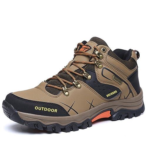 49846100 Gomnear Excursionismo Zapatos Hombres Verano Trekking para Caminar Alpinismo  Zapato Respirable Ligero Al Aire Libre Deportivo Entrenadores: Amazon.es:  ...