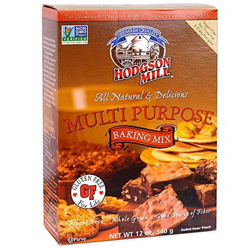 Mix Bread Wheat Free (Hodgson Mill Gluten-Free Multi Purpose Baking Mix, 12-Ounce Units (Pack of 6), Gluten-Free Flour Substitute for Baking, Use for Bread, Cookies, Cake, Pancakes, Muffins, Waffles, Pancakes)