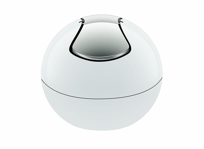 Spirella 10.14964 Bowl Poubelle Polystyrol 1 L Blanc