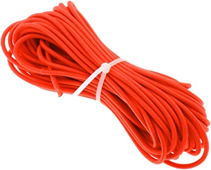 Boat//Trailer Covers 4mm 1m White Elastic Bungee Rope Shock Cord Tie Down