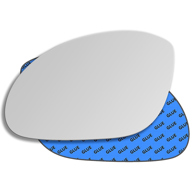 Hightecpl 17LS Left Passenger Side Convex Door Wing Mirror Glass