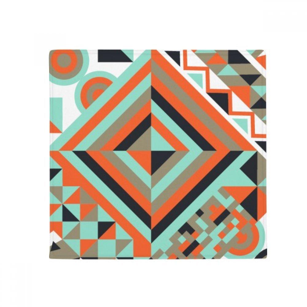 DIYthinker Green Rhombus Geometric Pattern Anti-Slip Floor Pet Mat Square Home Kitchen Door 80Cm Gift