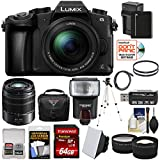 Panasonic Lumix DMC-G85 4K Wi-Fi Digital Camera & 12-60mm Lens with 45-150mm Lens + 64GB Card + Battery + Case + Tripod + Flash + Tele/Wide Lens Kit Review