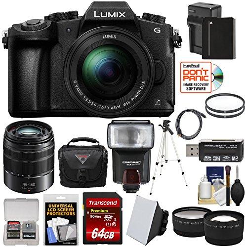 Panasonic Lumix DMC-G85 4K Wi-Fi Digital Camera & 12-60mm Lens with 45-150mm Lens + 64GB Card + Battery + Case + Tripod + Flash + Tele/Wide Lens Kit Review
