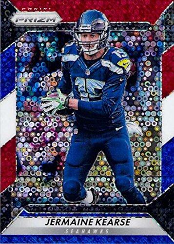 Seattle Seahawks Card - Football NFL 2016 Prizm Prizm Red White and Blue Disco #35 Jermaine Kearse NM-MT Seahawks