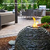 Aquascape Stacked Slate Sphere Water Fountains for