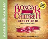 The Boxcar Children Collection Volume 45: The Mystery of the Stolen Snowboard, The Mystery of the Wild West Bandit, The Mystery of the Soccer Snitch by Gertrude Chandler Warner (2016-02-20)