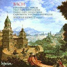 BACH. Fantasia, 2 & 3-part Inventions. Hewitt