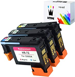 AceInk 3X HP72 Printheads with New Updated Chips Compatible for HP Designjet T610 T620 T770 T790 T1100 T1120 T1200 T1300 T2300
