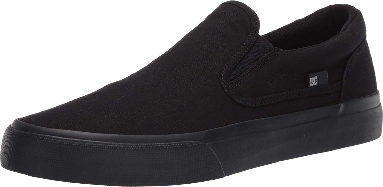 DC Mens Trase Slip-On TX U Skate Shoe