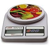 Nova KS-2017 Electronic Digital Kitchen Weighing Scale (Milky)