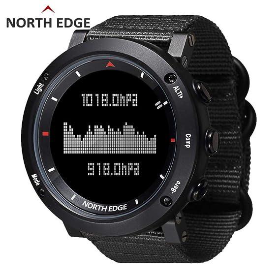 ... Light para NORTH EDGE Reloj deportivo para hombre Reloj digital Horas de running Natación Relojes deportivos para exteriores con: Amazon.es: Relojes