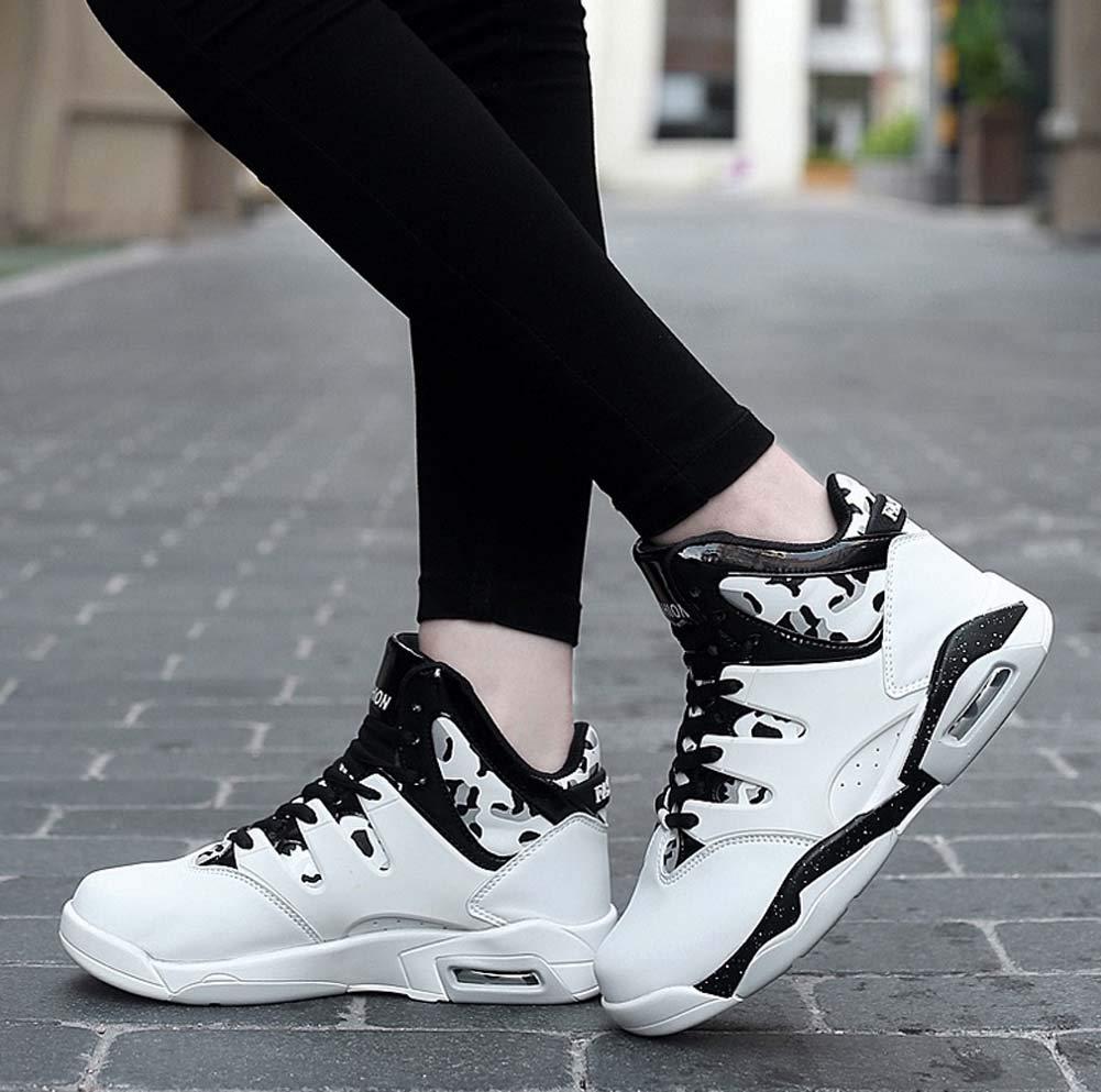 GLSHI Hombres Zapatillas De Baloncesto Ligeras 2018 Zapatillas De De De Deporte Acolchadas Unisex De Gran Tama ntilde;o (Color : Blanco, tama ntilde;o : 36 EU) 27ffa8