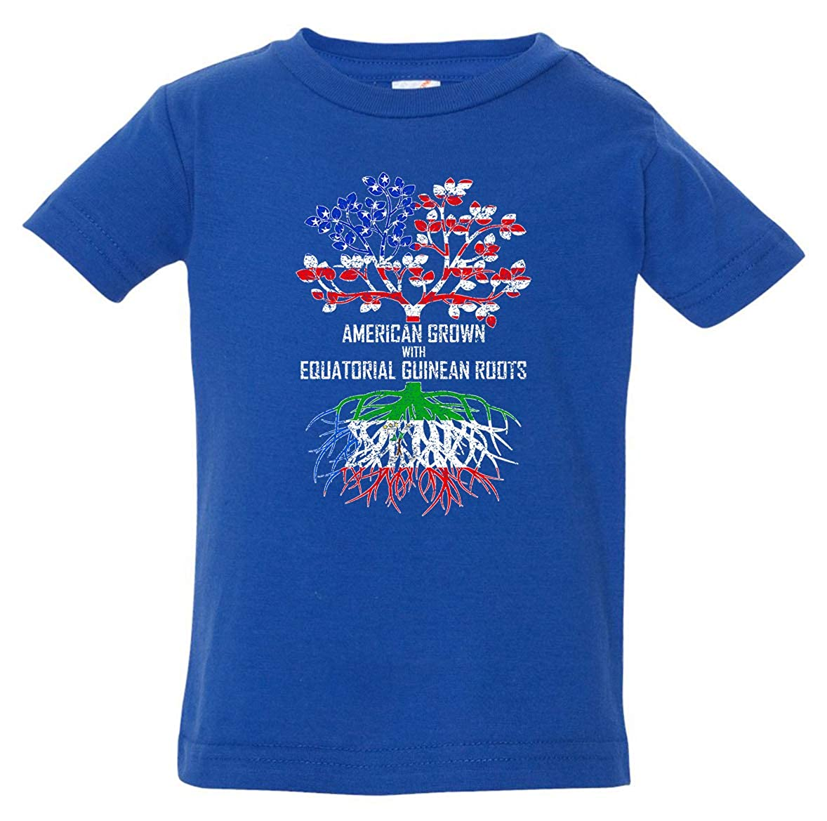 Tenacitee Babys American Grown with Equatorial Guinean Roots Shirt