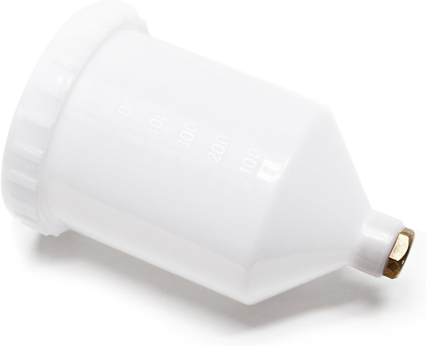 Wiltec Ersatzteil Airbrushpistole Farbbecher Farbbehälter Kunststoff Für Hvlp Lvlp 500ml Garten